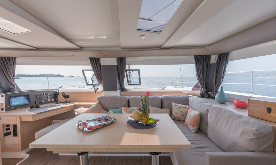 catamaran de luxe helia 44 evolution  fountaine pajot