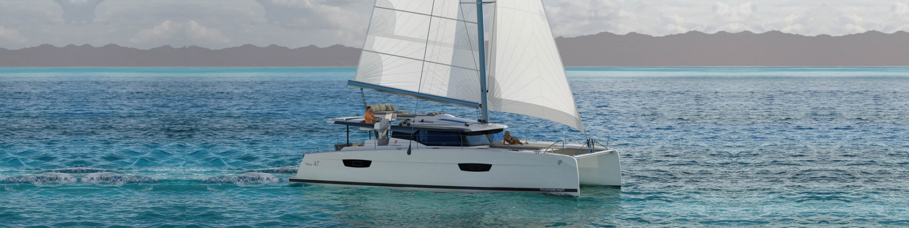 catamaran de luxe fountaine pajot