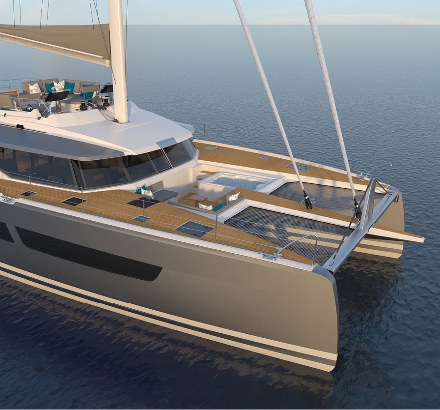 Breaking News A New Flaghip Class FP Catamaran Unveiled At Cannesthe 67