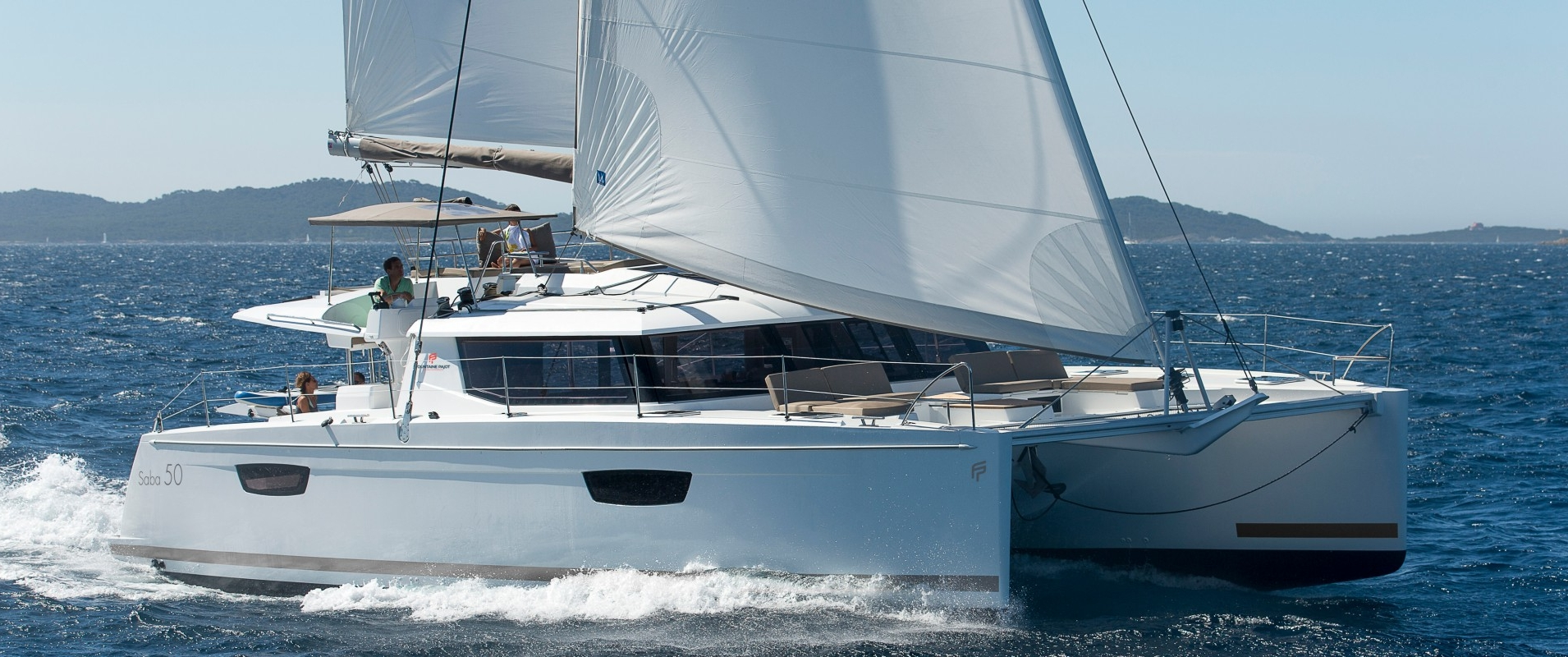 Segel katamaran kaufen  Catamaran Sailboat Saba 50 - Fountaine Pajot