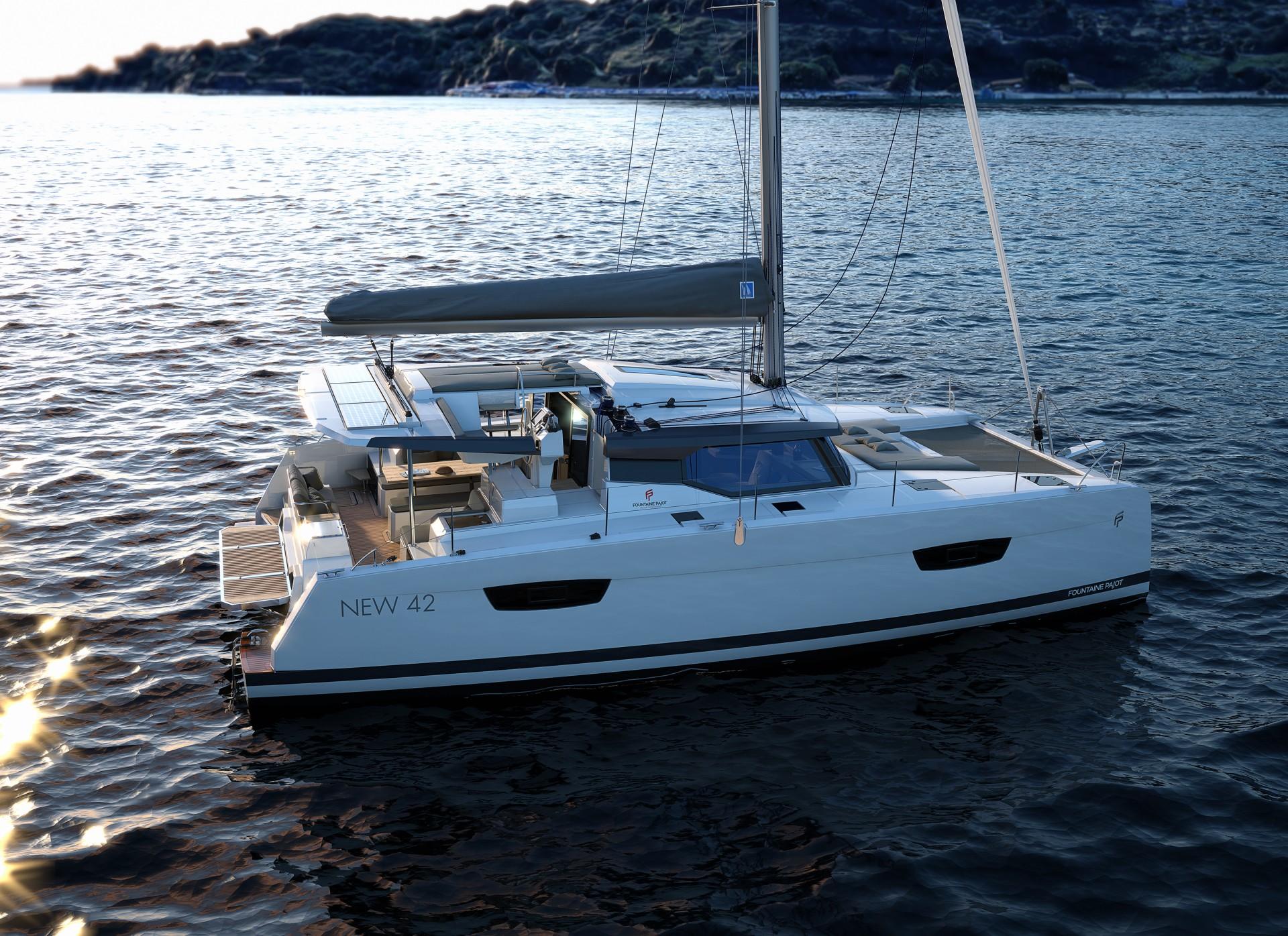 A New Fountaine Pajot Catamaran Sailing Catamaran New 42