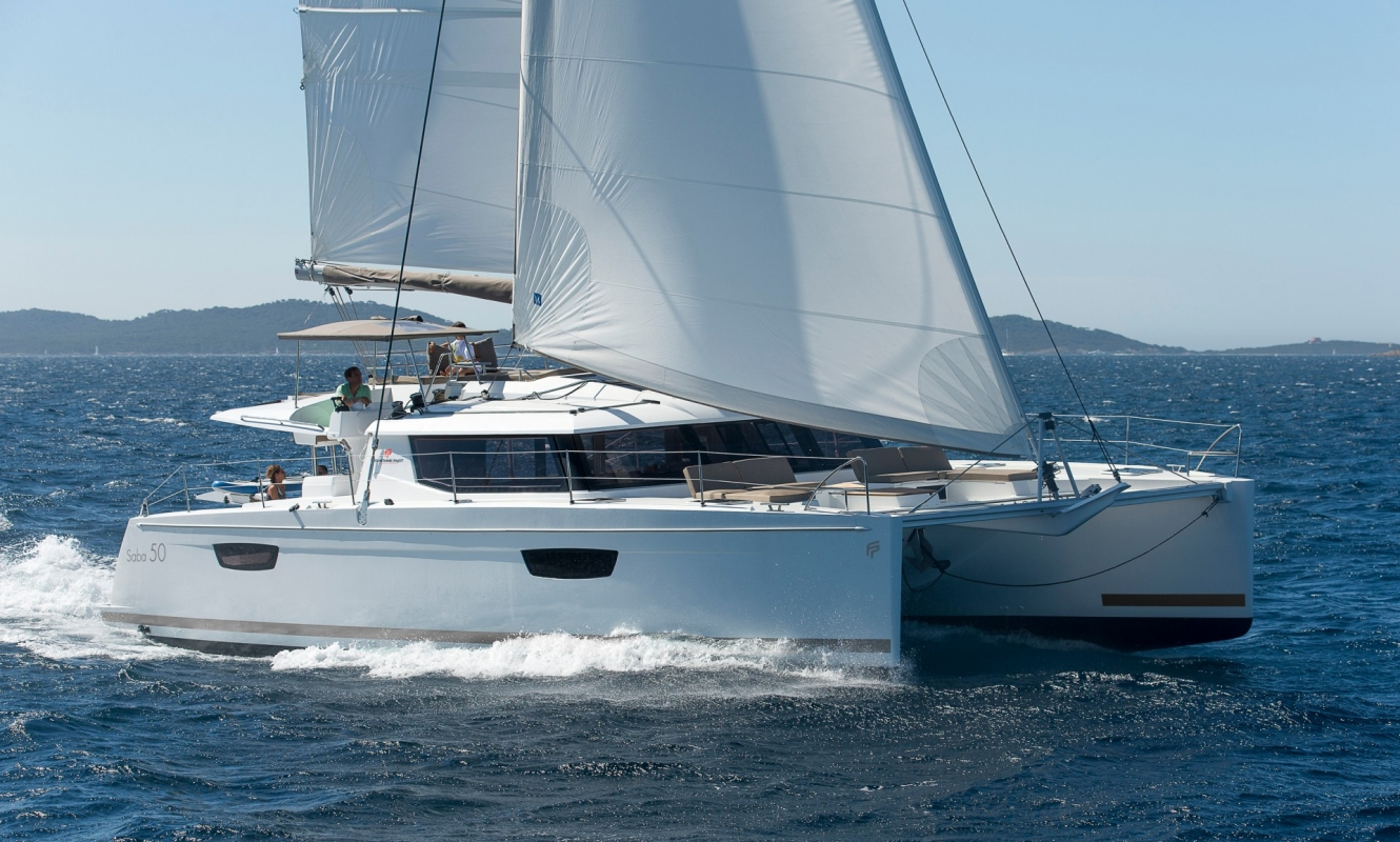 catamarans sailboat saba 50