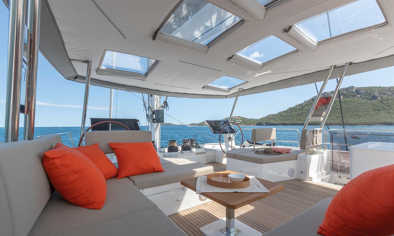 catamaran yacht alegria 67