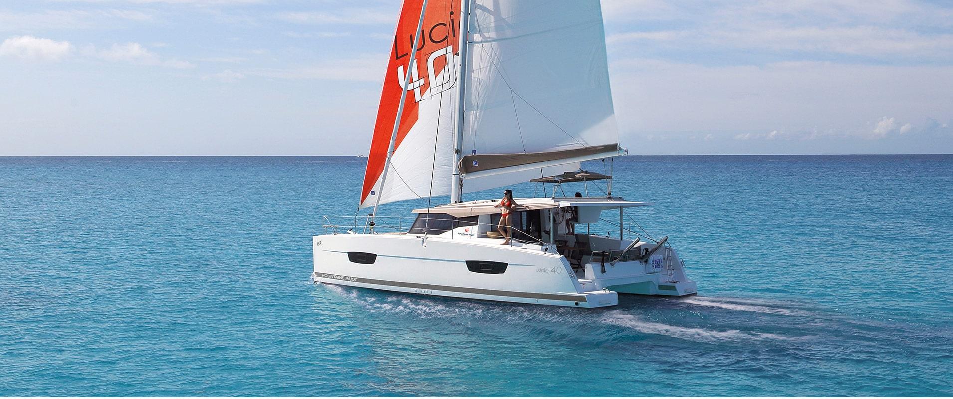 Catamarans sailboat Lucia 40 - Fountaine Pajot