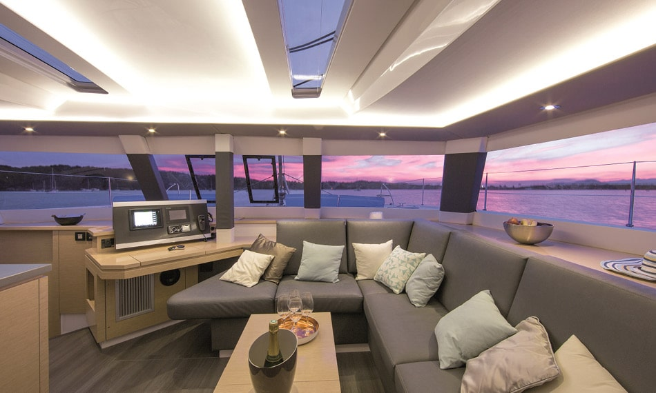 Cruise Catamaran Sailboat Saba 50 Fountaine Pajot