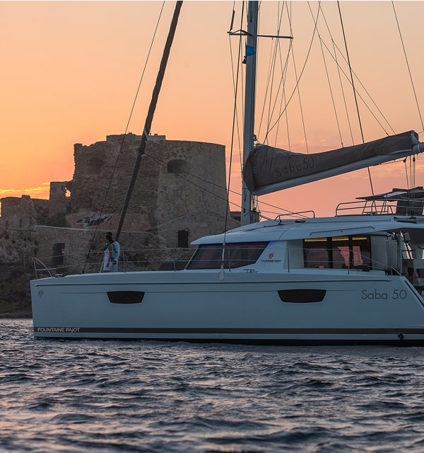 Catamarans Sailboat Saba 50 - Fountaine Pajot