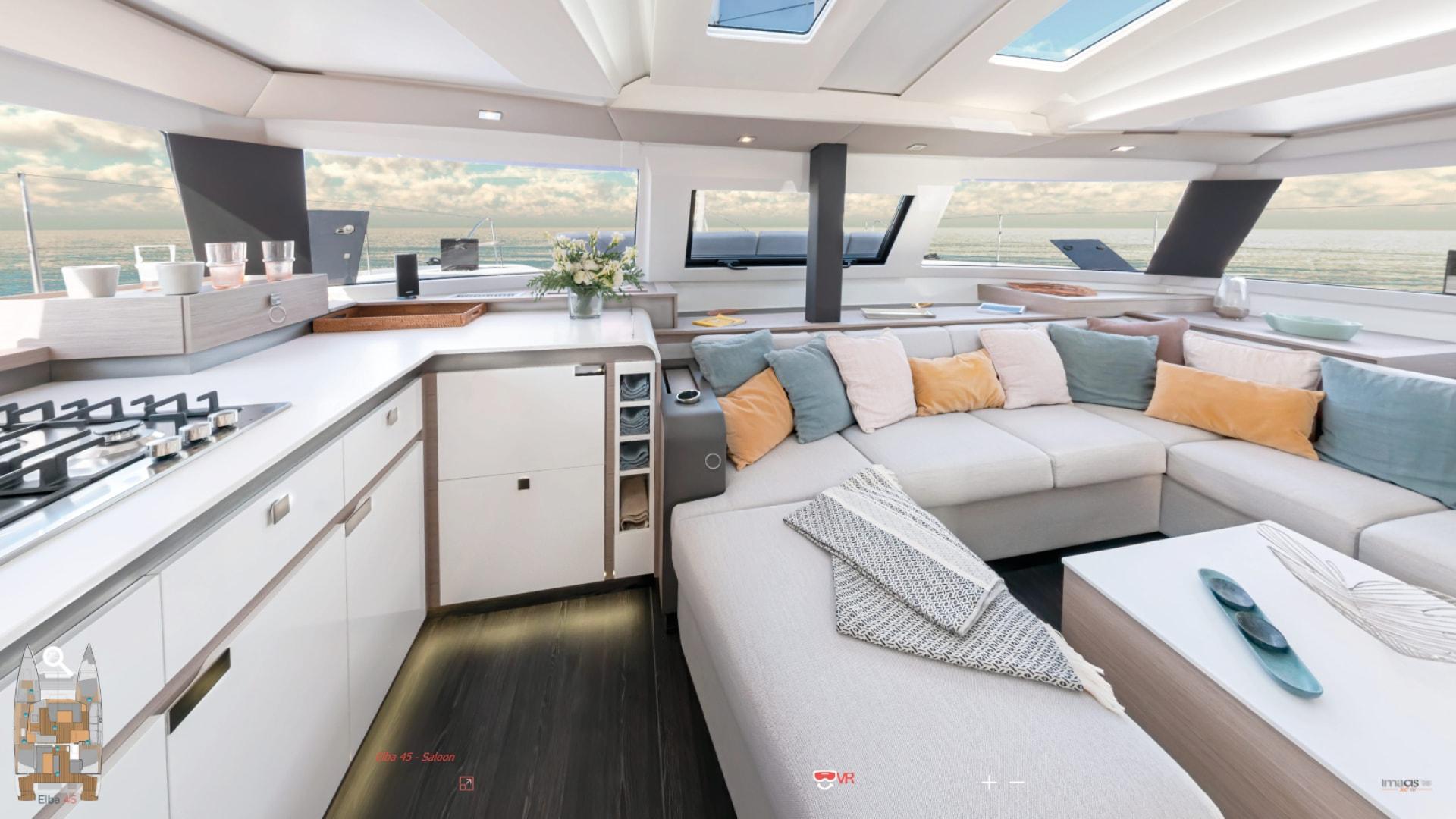 Elba-45-Virtual-tour-Sailing-catamaran-Fountaine-Pajot