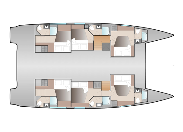 NEW-51-Fountaine-Pajot-Layout- 6 cab