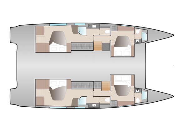 NEW-51-Fountaine-Pajot-Layout-Double Maestro